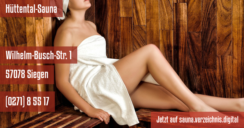 Hüttental-Sauna auf sauna.verzeichnis.digital